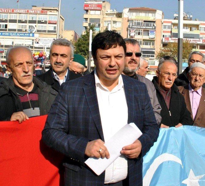Aydın Sth'den Halep Türkmenlerine Yardım Eli