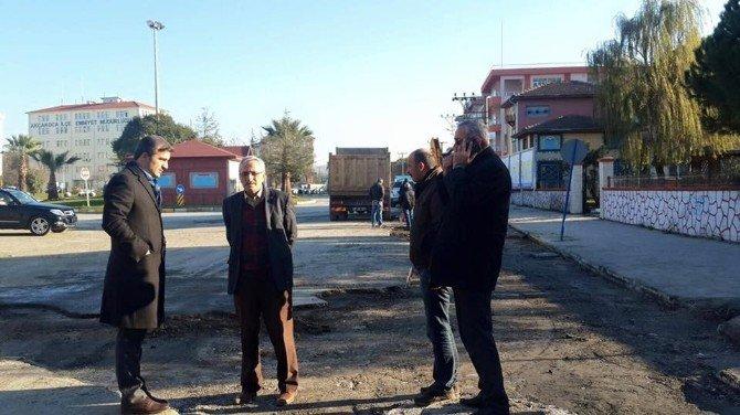 Akçakoca'da Yağmur Suyu Baskınlarını Önlemek İçin Çalışma Yapılıyor