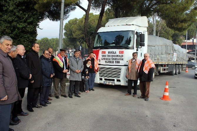 Türkmenlere Yardım Tır'ı Yola Çıktı