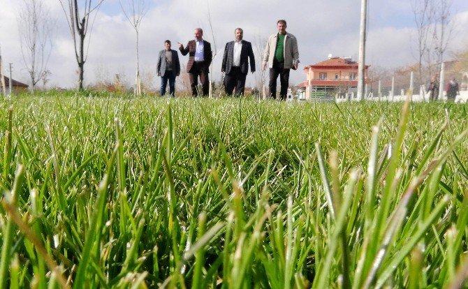 Topakkaya'nın Medeni Kent Meydanı Tamamlandı