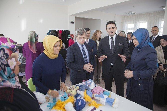Vali Çınar, Adem'in Açılışına Katıldı