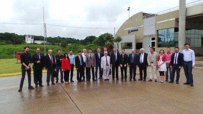 BTSO uzay ve havacılık için Brezilya'yı gezdi
