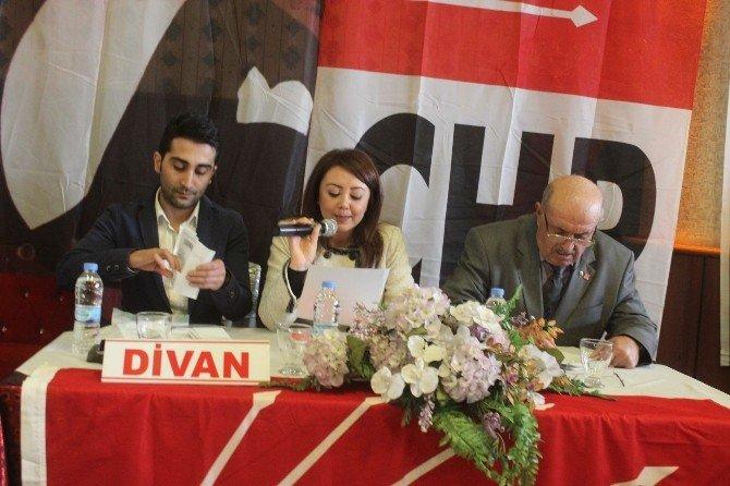 CHP'de Kızıloğlu Yeniden Başkan