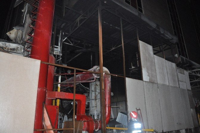 Gebze'de Fabrika Yangını Paniğe Neden Oldu