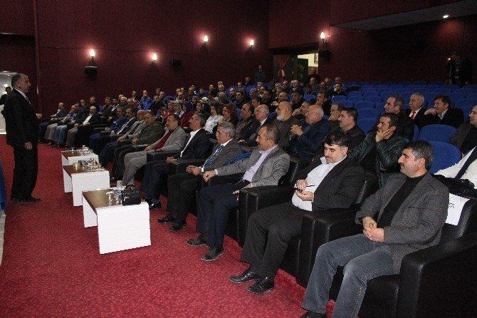 Elazığ'da Kültür Ve Motivasyon Semineri Verildi