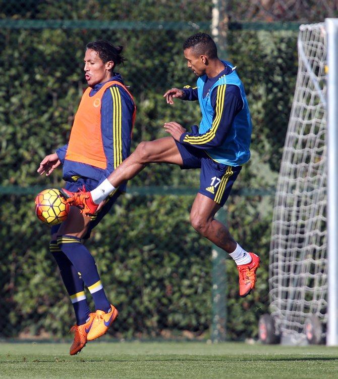 Fenerbahçe, Gençlerbirliği maçı hazırlıklarını tamamaldı