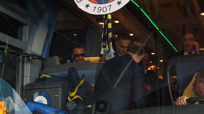 Fenerbahçe, Gençlerbirliği maçı için Ankara'ya geldi
