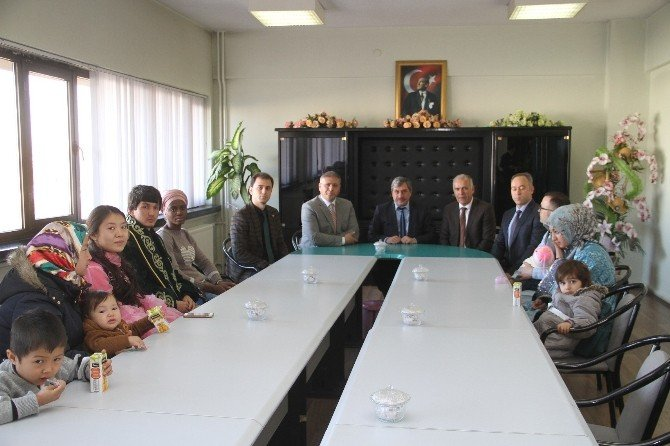 Göçmenlerden Erzincan Belediyesine Ziyaret