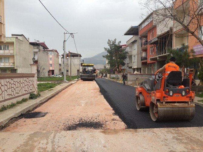 Gürsu Yollarına 73 Bin Ton Asfalt Döküldü