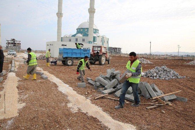 Haliliye'de Kırsalda Park Yapım Çalışması