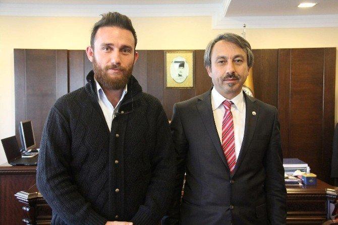 İHA'dan Trakya Üniversitesi Rektörü Yörük'e Ziyaret