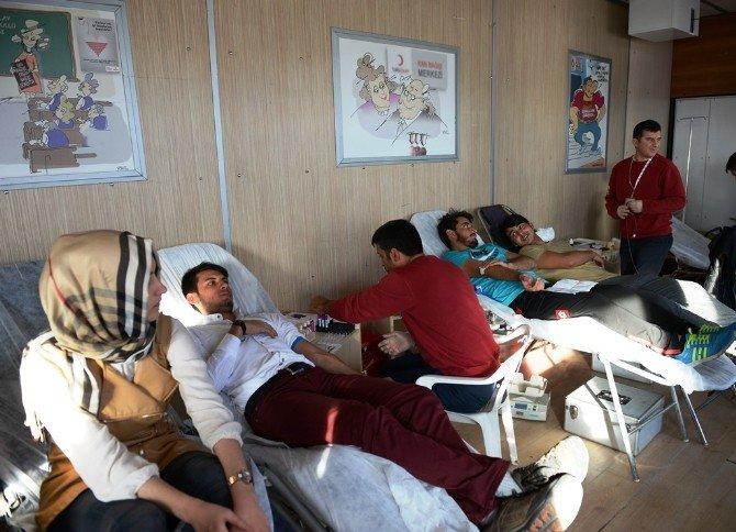 KSÜ'den Gönüllü Kan Bağışı Seferberliği