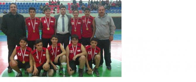 Gevher Hatun Koleji basketbolda şampiyon oldu