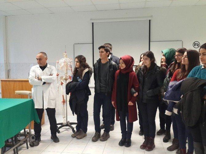 Kültür Koleji Öğrencileri Meslekleri Öğreniyor