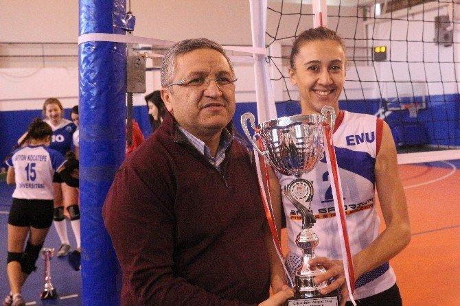 Türkiye Üniversite Sporları Federasyonu Voleybol 2. Lig Müsabakaları Sona Erdi