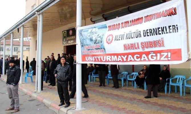 """Kahramanmaraş'ta """"Maraş Olaylarının 37. Yıl Dönümü"""" Gerginliği"""