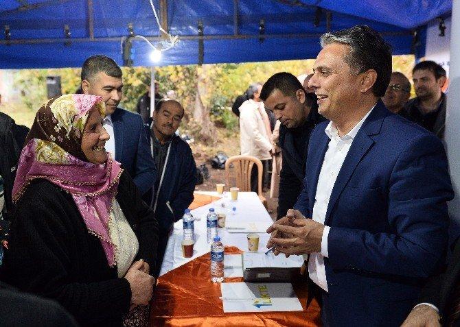 Başkan Uysal, Topçular Mahallesi'ni Ziyaret Etti