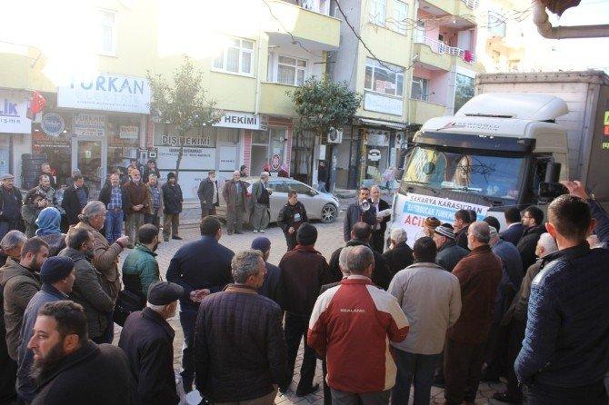 Sakarya İHH'dan Suriye'ye 91'nci Yardım Tırı
