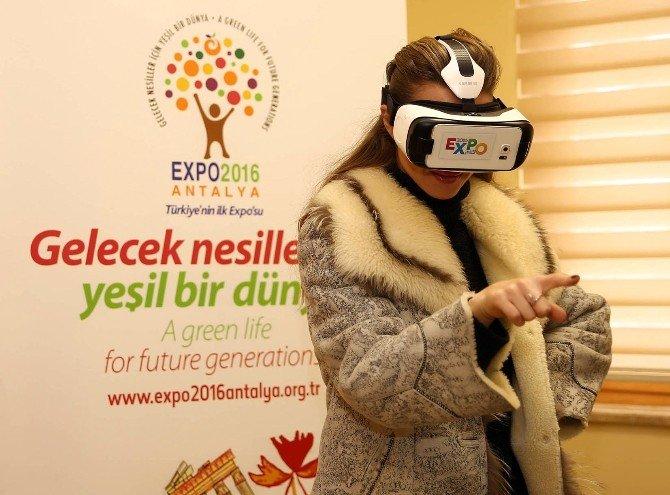 Otilia'dan EXPO 2016 Alanına Kauçuk