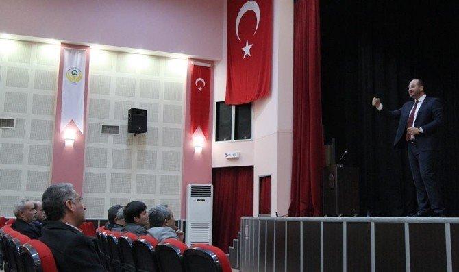 Saruhanlı'da Meclis Üyeleri Ve Muhtarlara Seminer Verildi