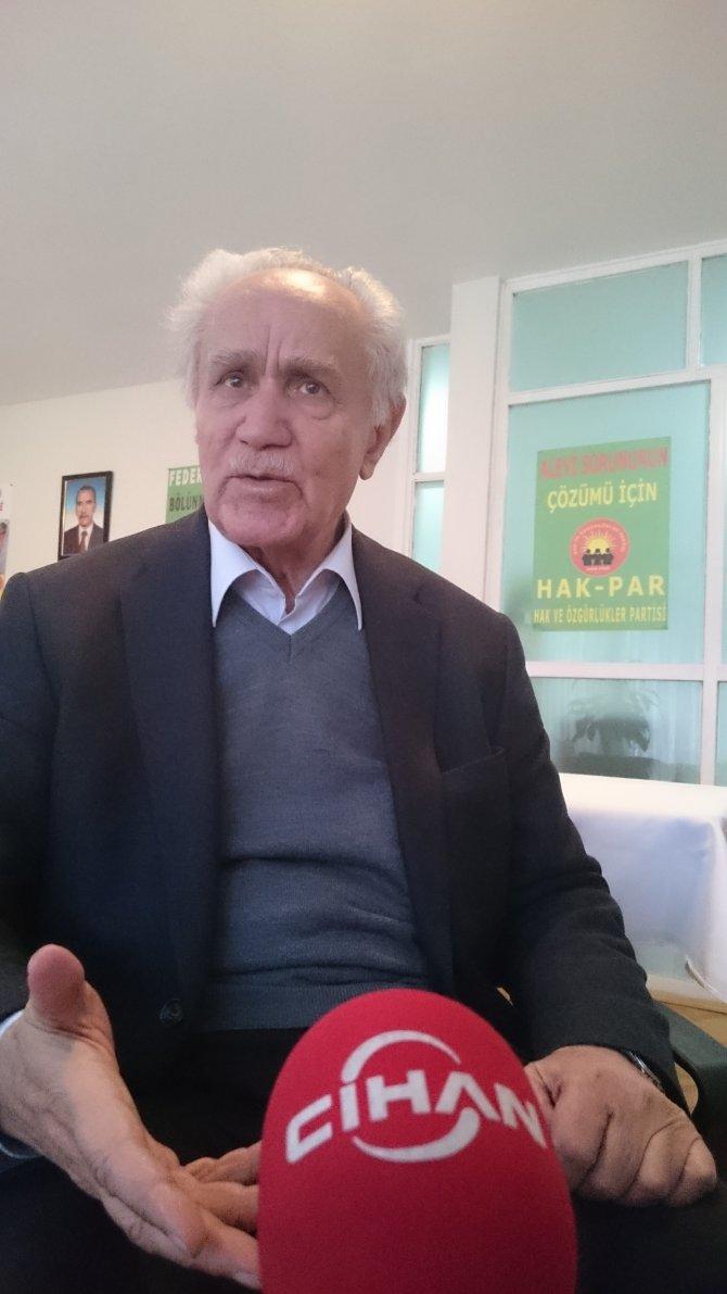 Kemal Burkay: AK Parti 90 yıldır süren fasit daireyi kıramadı