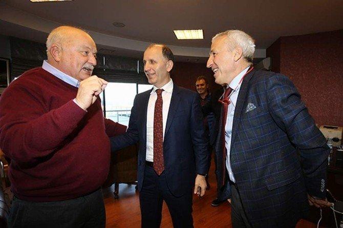Tsyd Trabzon Şubesi Usta'yı Ziyaret Etti