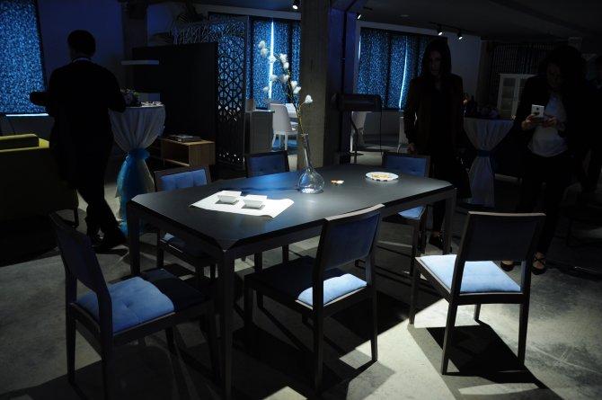 Öpçin Grup, Bienal markasıyla ürettiği mobilyaları tanıttı