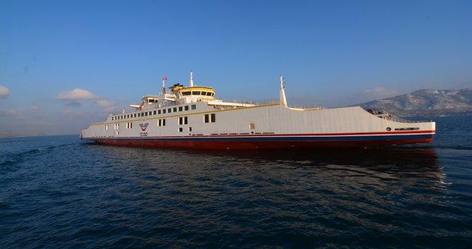 Türkiye'nin en büyük feribotu Van Gölü'nde deneme seferine çıktı