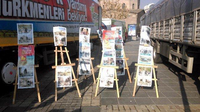 Verenel Derneği'nden Bayırbucak Türkmenleri'ne 3 Tır Dolusu Yardım