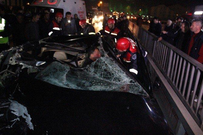 Zonguldak'ta Kaza: 1 Ölü, 1 Yaralı