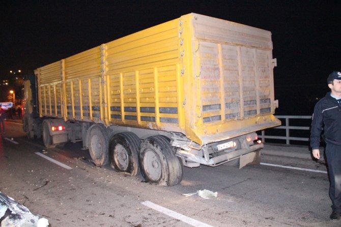 Zonguldak'ta kaza: 1 ölü, 1 ağır yaralı
