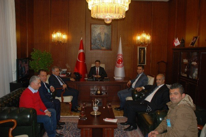 TBMM Başkanvekili Aydın'dan, 1954 Spora Destek