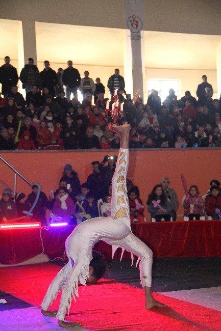 Ardahan'da Öğrencilerin Sirk Keyfi