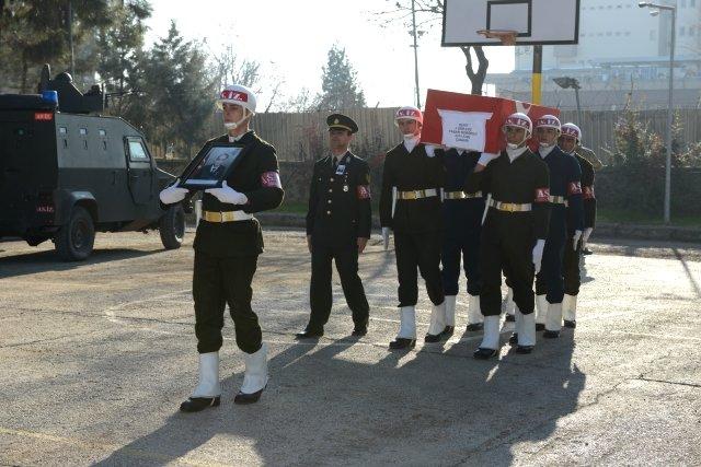 Sur'da şehit olan Uzman Çavuş Yeniören için tören düzenlendi