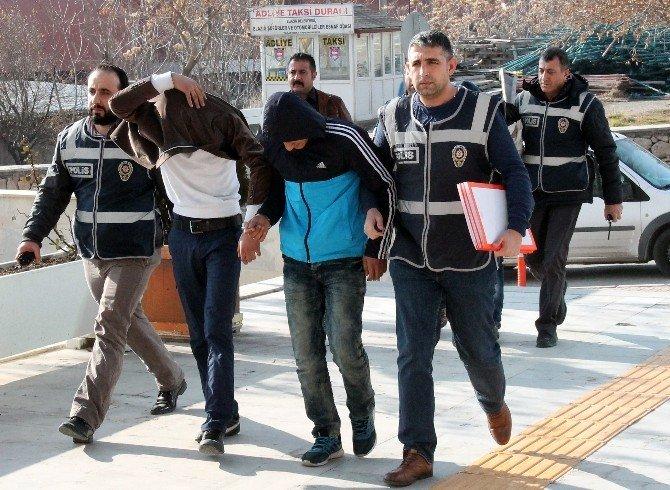 Elazığ'da 4 Ayrı İş Yerini Soyan 3 Hırsız Tutuklandı