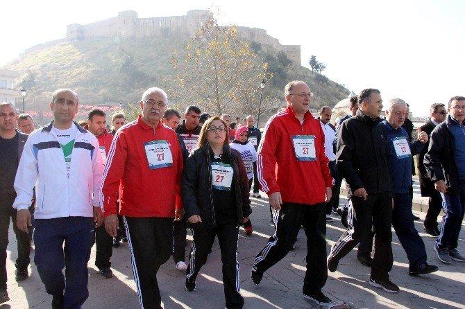 55 İlden Binlerce Kişi Gaziantep'in Kurtuluşu İçin Koştu
