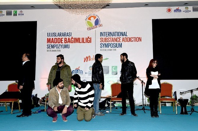 Uluslararası Madde Bağımlılığı Sempozyumu Sona Erdi