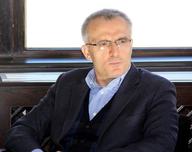 Maliye Bakanı Ağbal, Palandöken Kayak Merkezinde İncelemede Bulundu