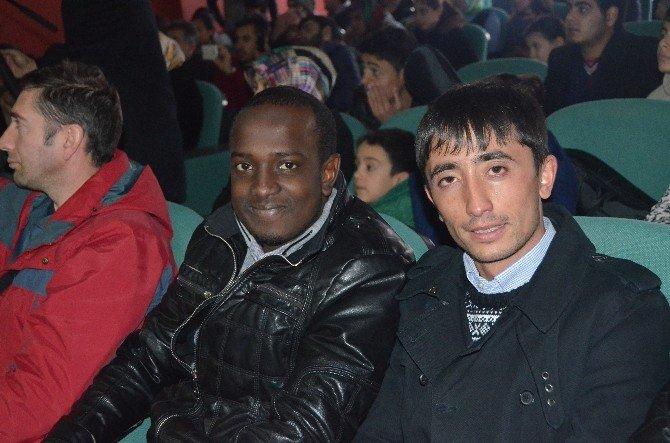 Erzurum'da Okuyan Uluslararası Öğrenciler Bir Araya Geldiler