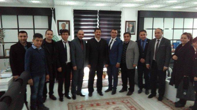 Sağlık-sen İlçe Başkanlar Kurulu Demirci'de Toplandı