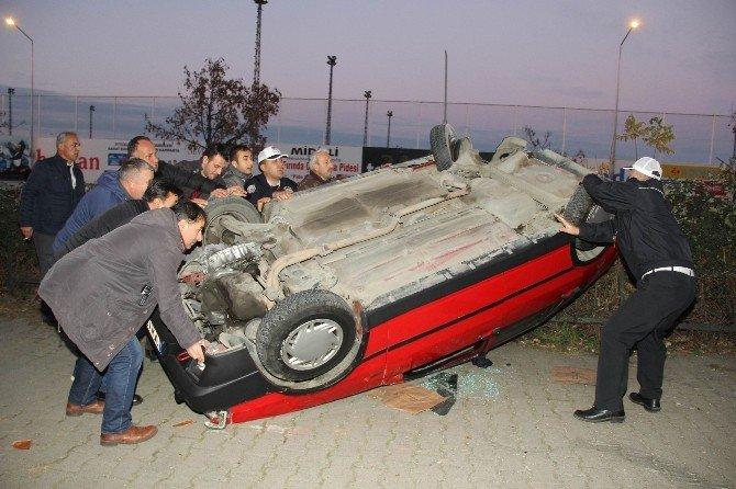Kazada Faciadan Dönüldü