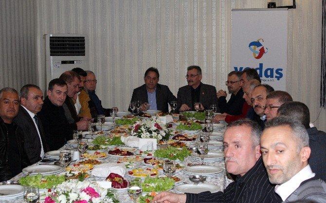Samsun Ve Malatya Gazetecileri Dostluk Yemeğinde Buluştu