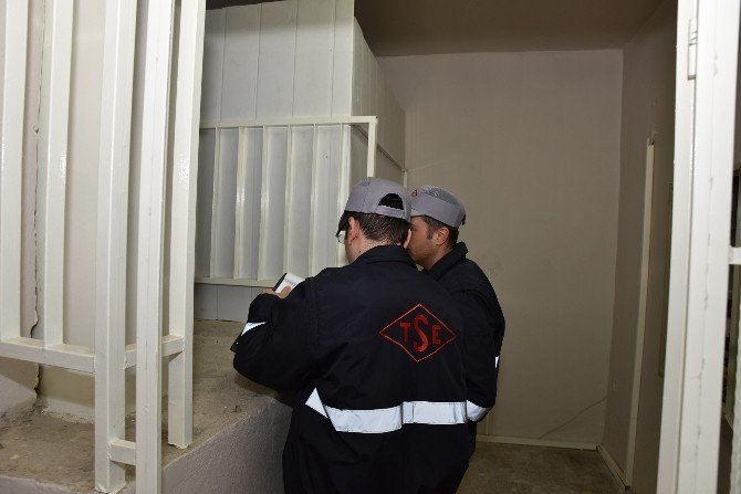 Şehzadeler'de Asansör Denetimleri Başladı