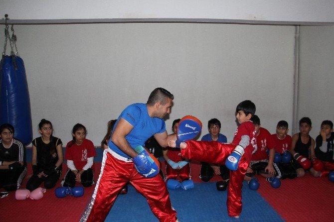 Silvanlı Wushu Sporcuları, Şampiyonluk İçin Antalya'da