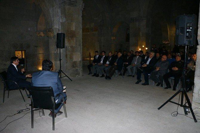 Tezkire Söyleşileri Erzurum'da Başladı