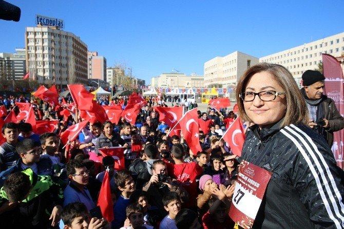 Türkiye Gaziantep'in Kurtuluş Koşusunda Buluştu