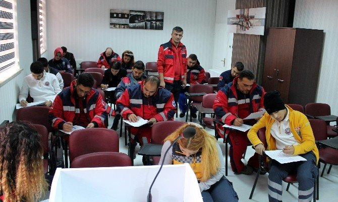 Adıyaman UMKE, Kilis'te Eğitim Verdi
