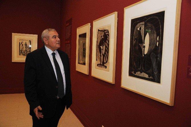 Picasso Sergisi'ne Ziyaretçi Akını