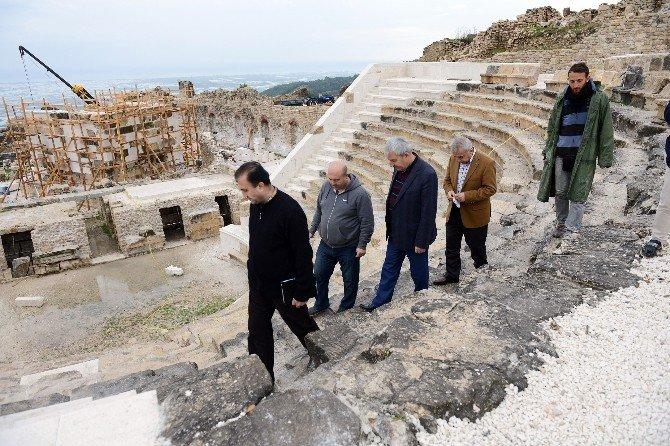 Rhodiapolis Antik Kenti'ndeki Restorasyon Çalışmalarında Sona Gelindi