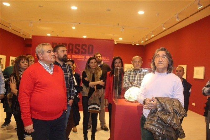 Ansiad Üyelieri, Picasso Ve Ara Güler Sergileri'ni Gezdi